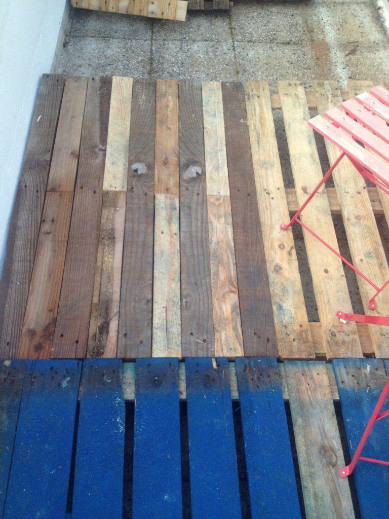terrasse en palette tuto canape