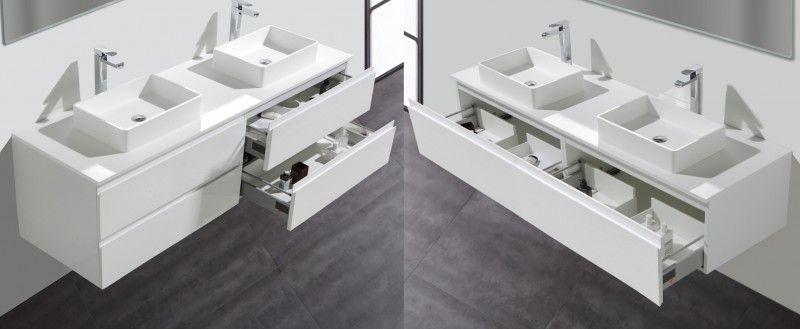 Badezimmermobel Set Gunstig Online Kaufen.Badmobel Set Luxx 1800 Weiss Anzahl Schubladen Wahlbar Gunstig