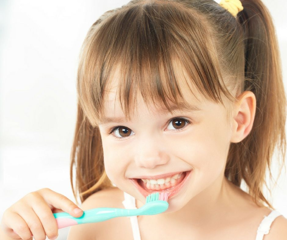 How To Brush Your Teeth For Children {With Free Chart