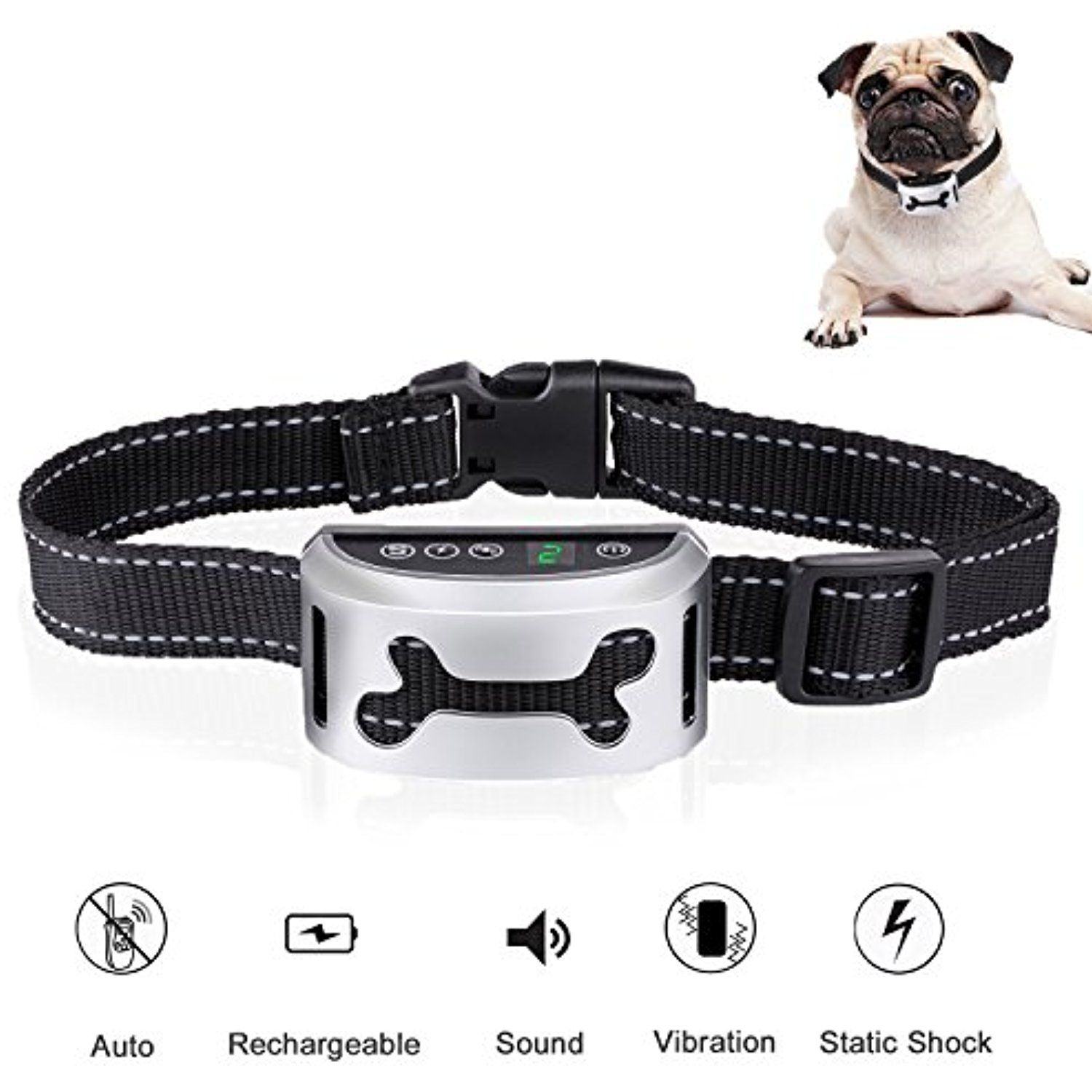 Urmates Smart Dog Training Collar Upgrade Automatic E Collar With