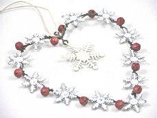 ๑♥๑ Snowflake Hanging Heart ๑♥...