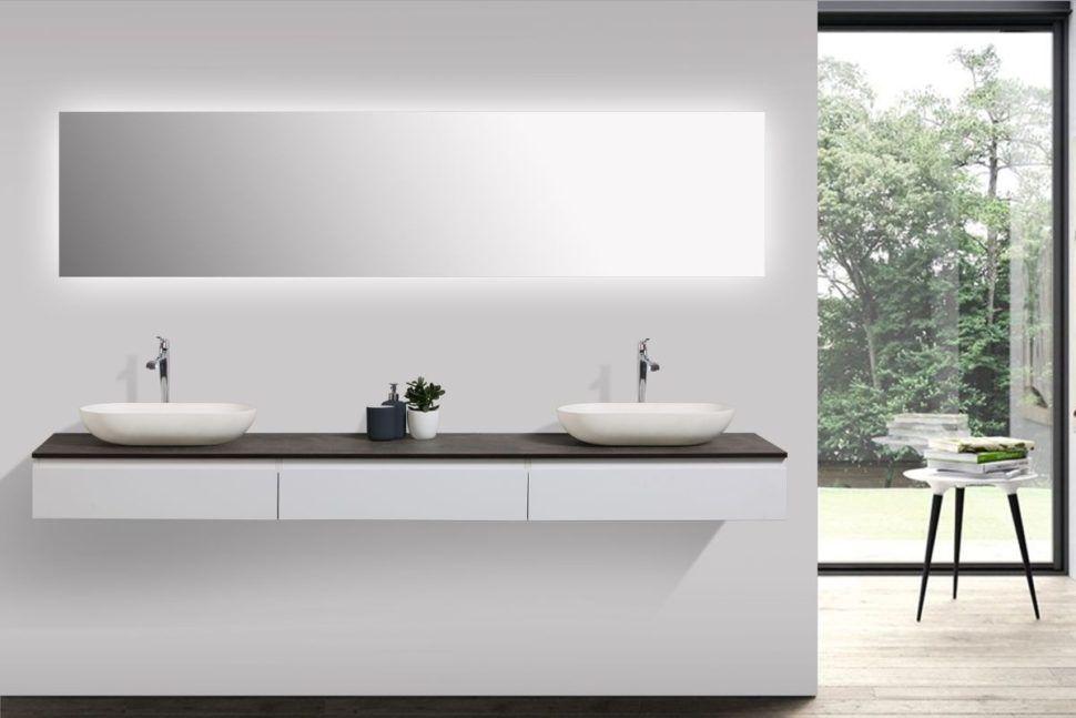 Epingle Par Llongin Sur Sdb En 2020 Meuble Vasque Meuble Salle De Bain Salle De Bain Design