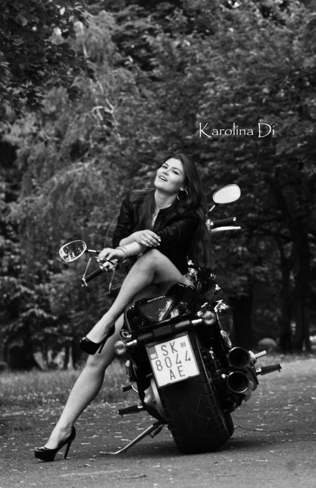 Ema Kirijan ,motorcycle & ride  Photo by: Karolina Di
