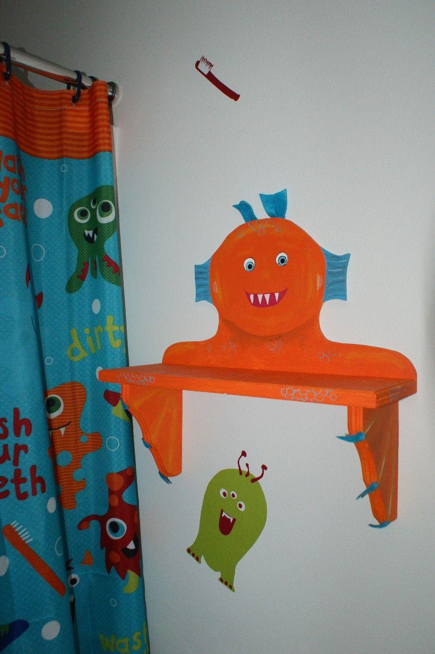 Monster Bathroom Accessories    CJ sCreativeSpaces. Monster Bathroom Accessories    CJ sCreativeSpaces   boys bathroom