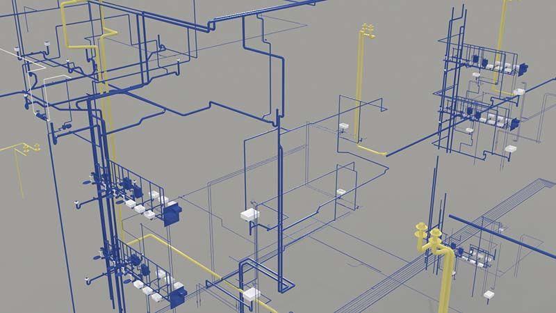 Plumbing riser diagram view more mep bim modeling