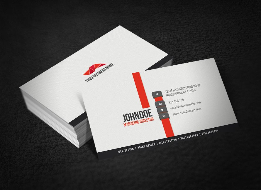 Order Your Business Card Here : https://www.fiverr.com/psdpixel ...