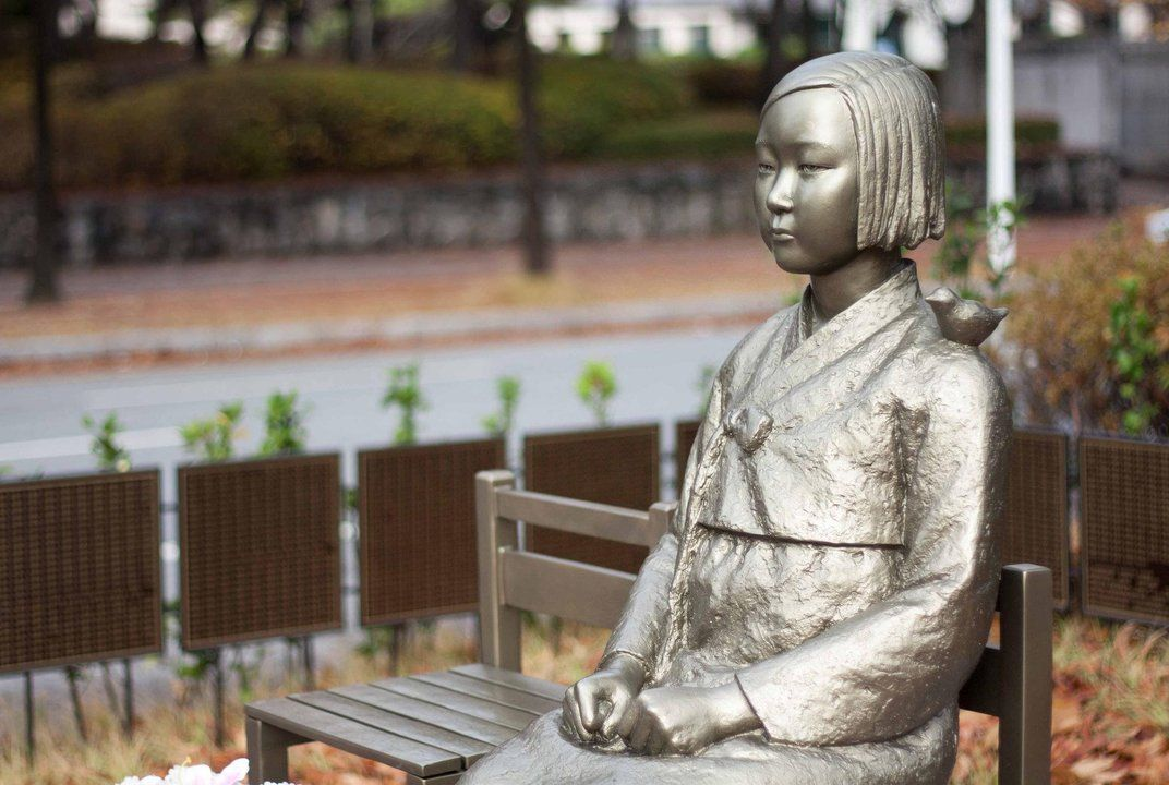 Comfort Woman Statue Stokes Old Tensions Between Japan And South