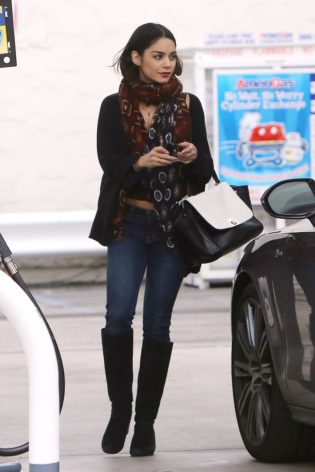 Winter wardrobe inspo from some of the world's chicest celebs and influencers -   16 vanessa hudgens style Winter ideas