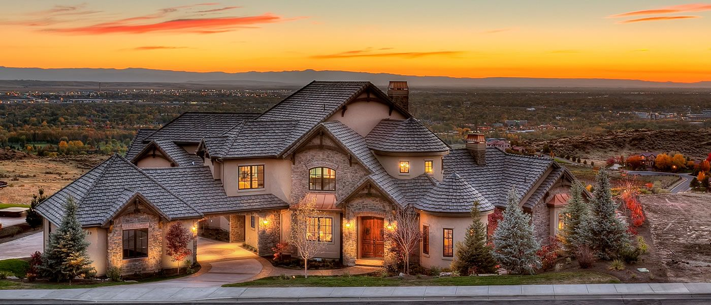 2013 fall parade home overlooking boise valley mountain