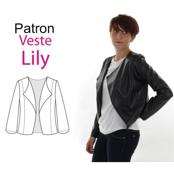 Patron veste femme pdf