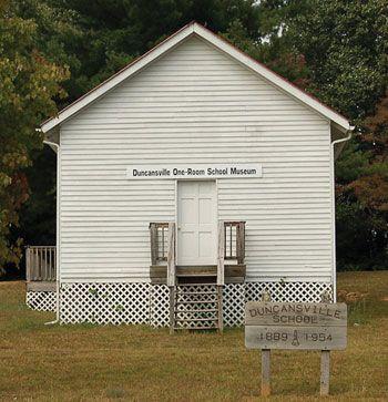Duncansville One Room School Museum Abingdon Special Library Outdoor Structures