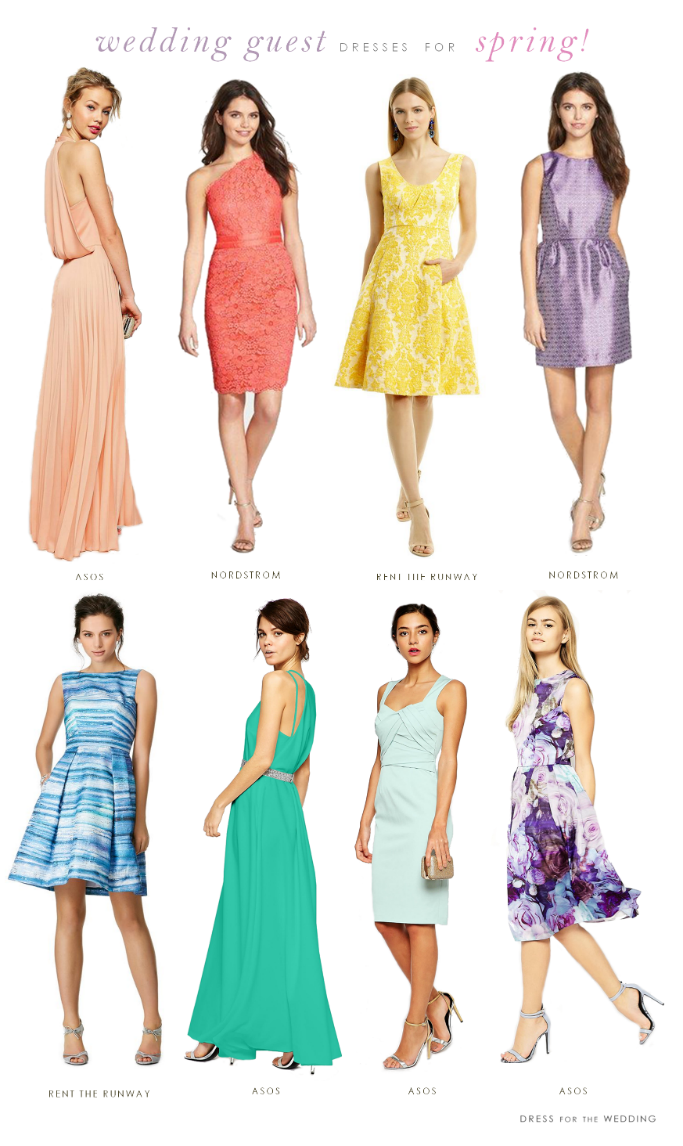Dresses For Wedding Guests Spring 2015 My Picks Guest Attire Women Florals Prints And Maxi In Pastel Colors