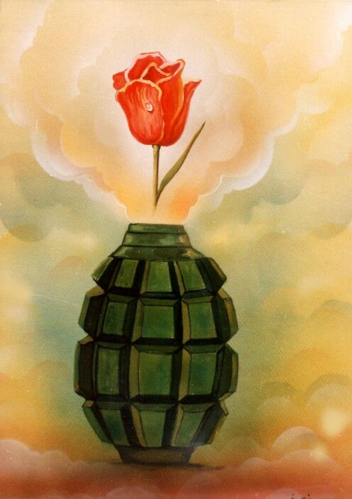 الاستشهاديين Poster Drawing Canvas Art Art