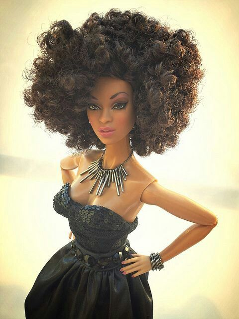 Natural Hair Doll Natural Tresses Pinterest Dolls