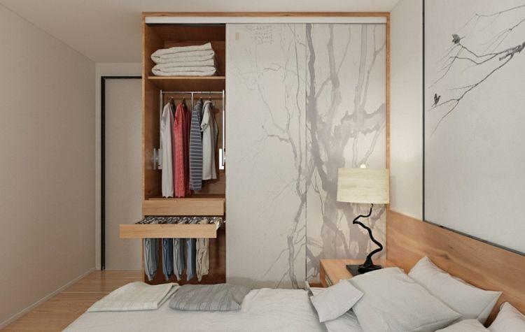 Minimalismus und Zen für den Kleiderschrank 1703013 GALAXY