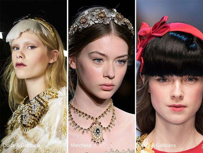 Fall/ Winter 2016-2017 Hair Accessory Trends   Fashion ...