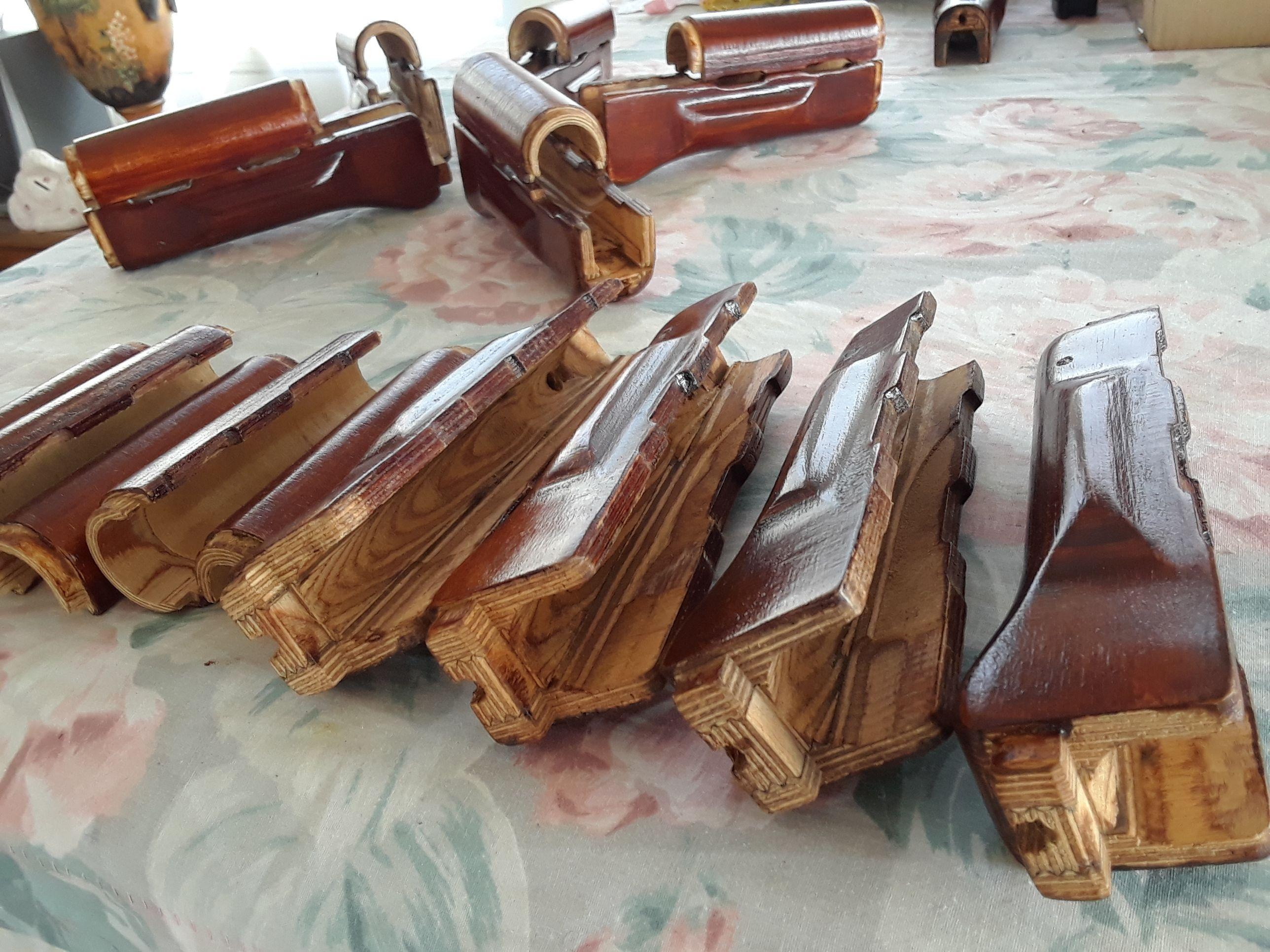 Genuine Russian Laminated Wood HAND GUARD AK 47 AKM PALM