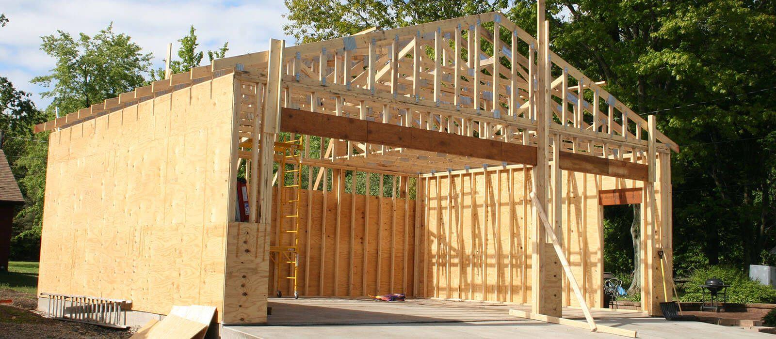 Wie baue ich eine Garage Garage bauen, Garagenbau