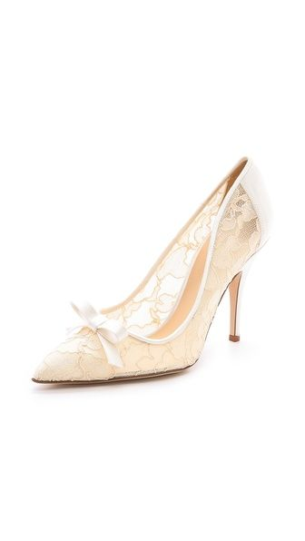 76dadc5270ff The perfect  wedding shoe! kate spade new york lace pumps
