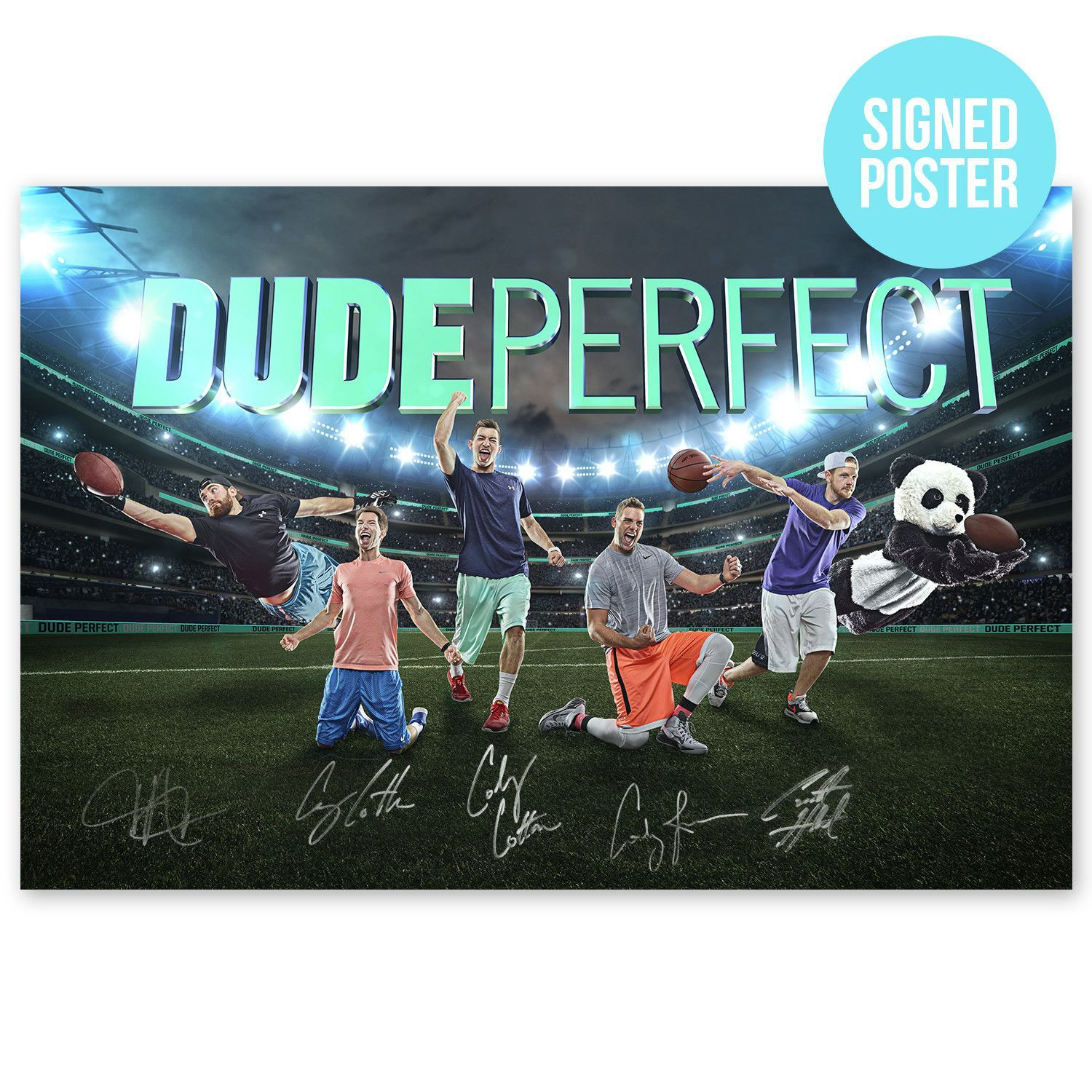 Heads Up Posters Will Ship In Their Own Separate Shipment If Ordered With Other Items So Fo Dude Perfect Dude Perfect Merchandise Kids Sports Party
