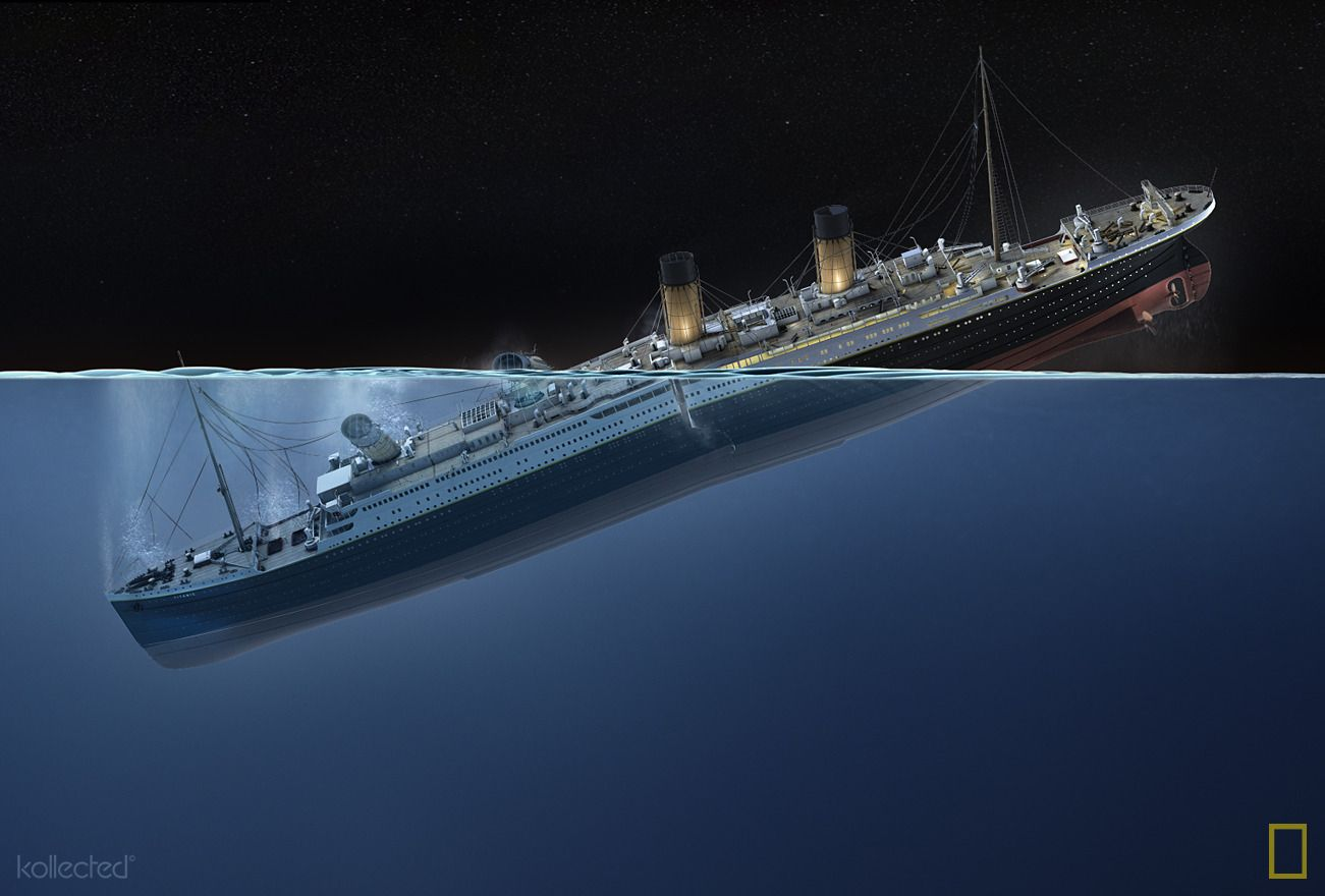 1912 The Sinking of The Titanic Summary of]