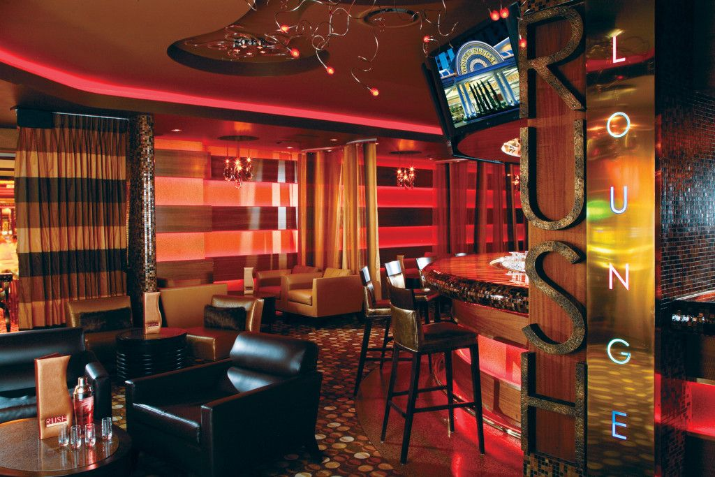 Rush Lounge at the Golden Nugget is home to live music
