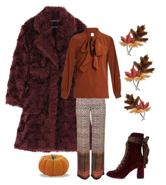 """""""Fall"""" by kotnourka ❤ liked on Polyvore featuring Rochas, Urban Touch, MaxMara, Chloé and Anne Klein"""