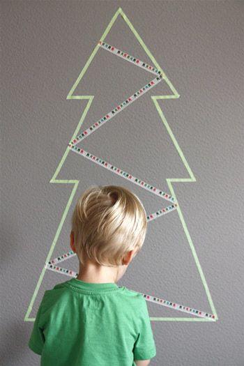 10 Best DIY Faux Christmas Trees Washi tape, Washi and Christmas tree