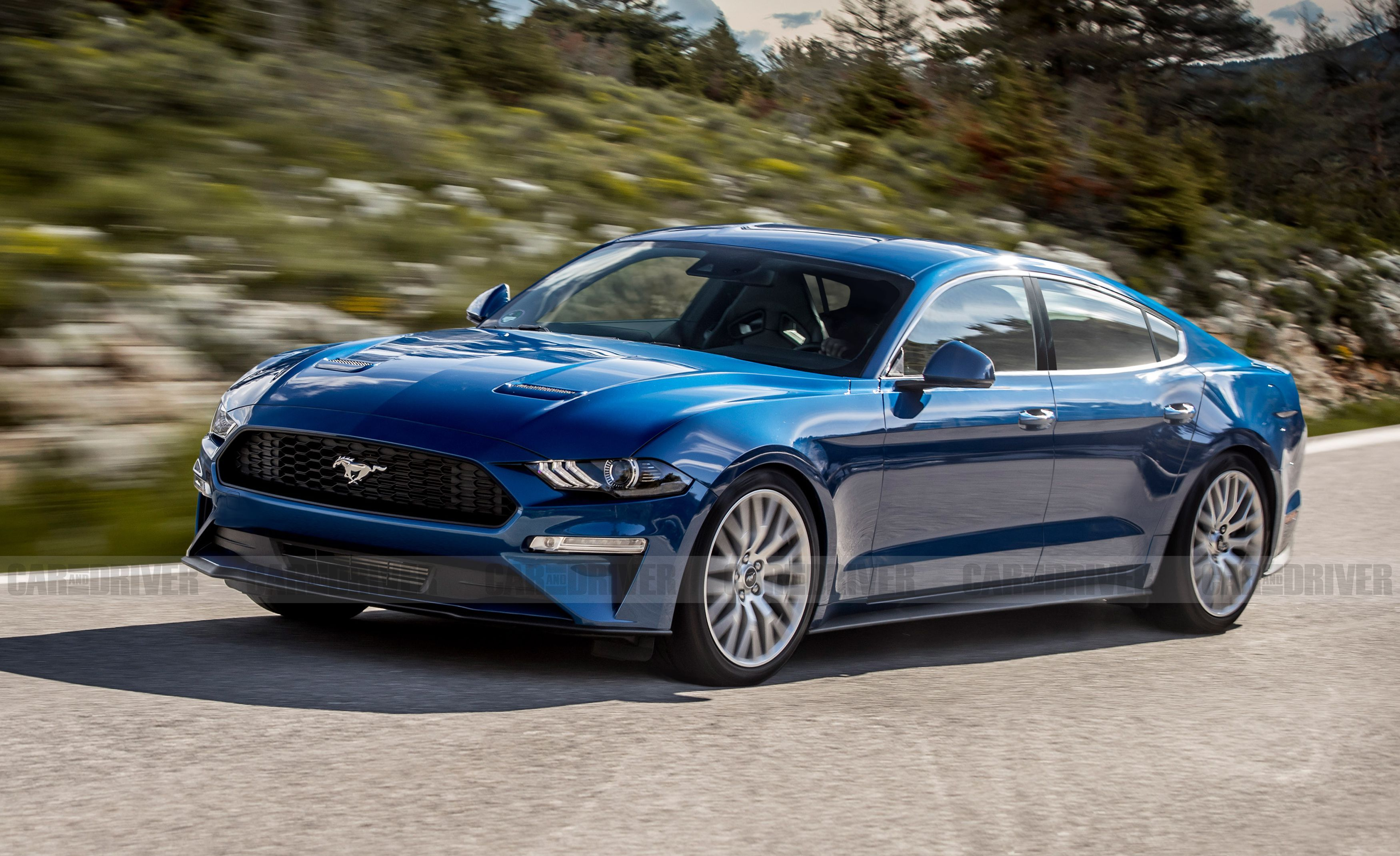 A Four Door Ford Mustang Is Not As Crazy As It Sounds Ford Mustang New Ford Mustang Ford Mustang Ecoboost