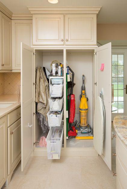 Pin By Luvsan On Storage Laundry Room Design Broom Storage Room Closet