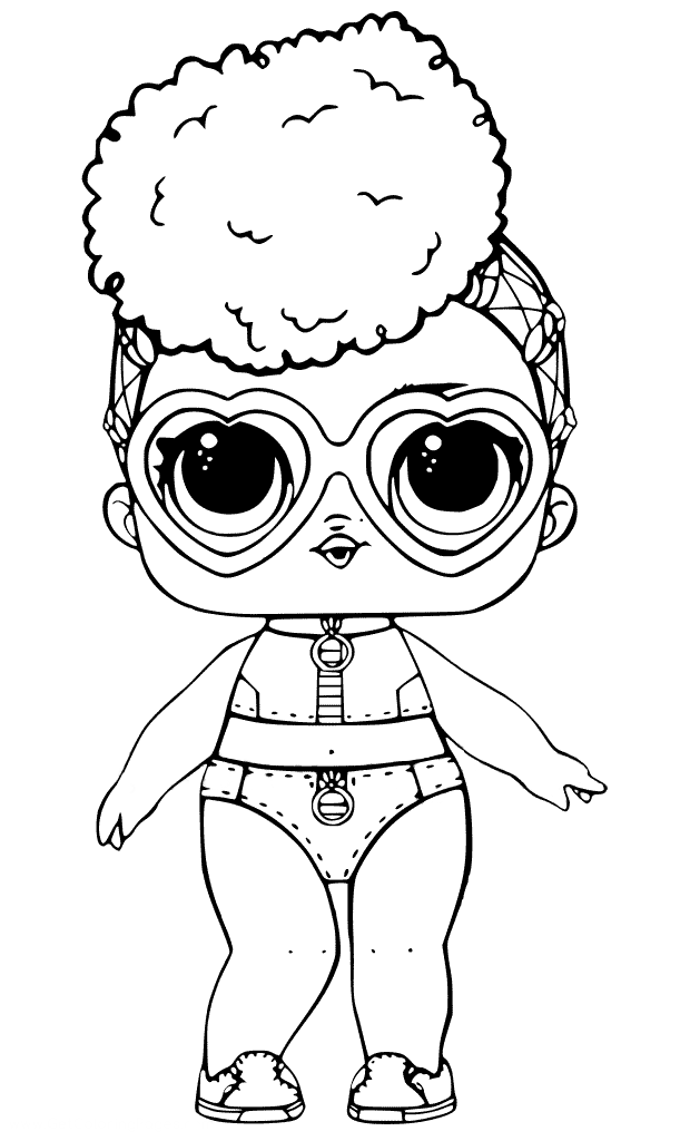 Раскраски «Куклы LOL» - «Кукла ЛОЛ взрывная волна» | Cool ...
