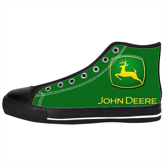 custom canvas sneaker for and deere canvas shoes
