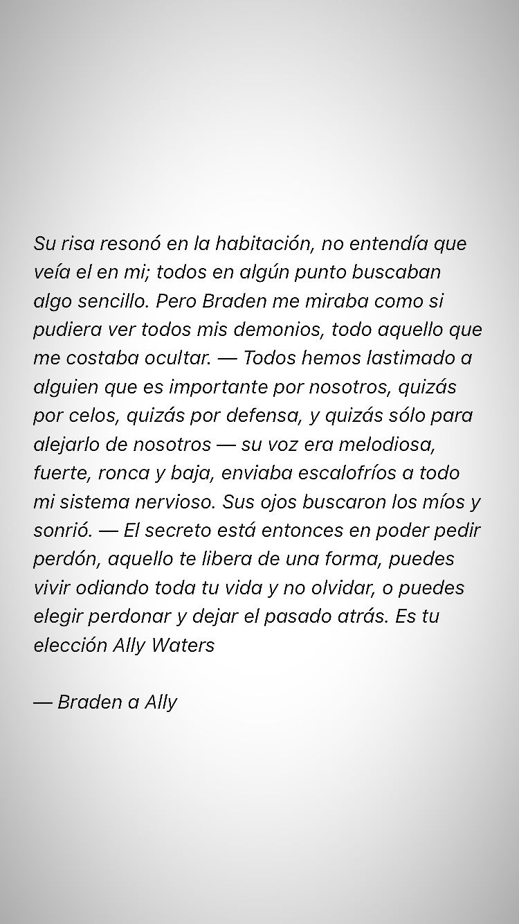 Frase Amor Libro The Life Of Ally Waters Flechazos Pinterest