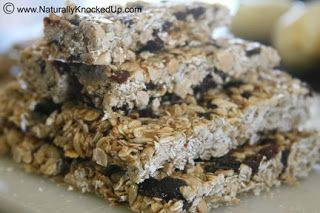 Homemade Granola Bars | Natural Fertility and Wellness