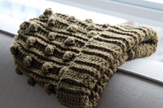 Adult Popcorn Crochet Hat Pattern Free - uses exactly 1 ball Bernat ...