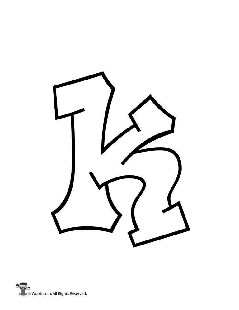 graffiti lowercase letter k bubble letters alphabet lower case letters letter k lowercase