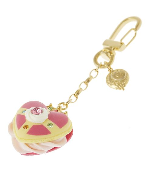 Q-pot Seilor Moon Sailor Moon key chain Cosmic Heart Macaron Limited F//S