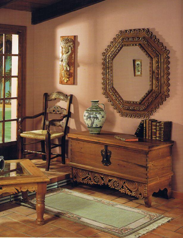 F brica de muebles ronde os el pino viejo la majara - Muebles rustico mexicano ...