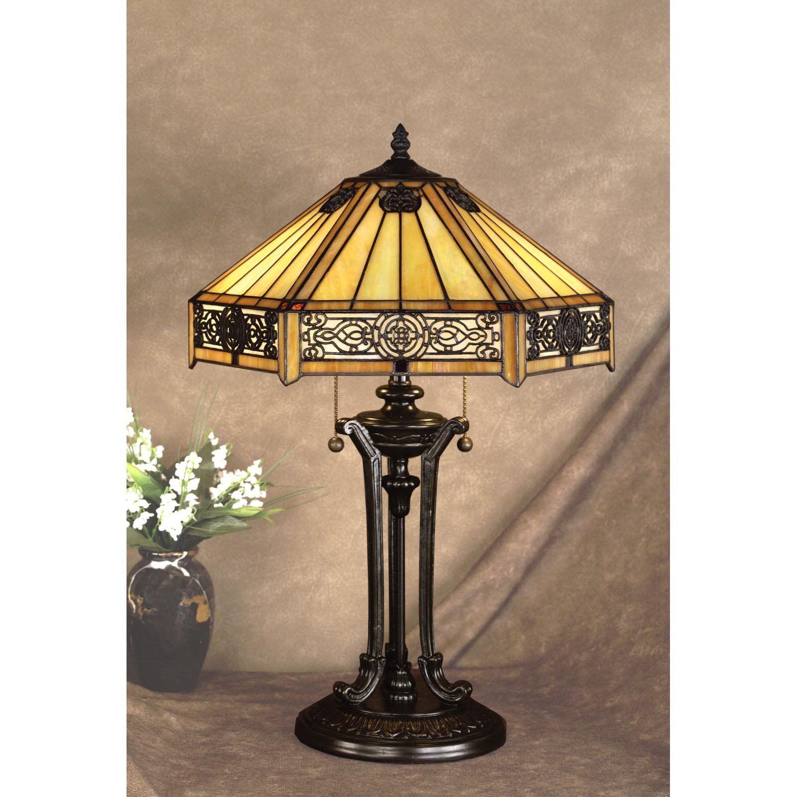 Tiffany Art Nouveau Lamp, Louis Comfort Tiffany