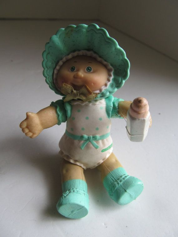 Baby Cabbage Patch Figurine Cabbage Patch Dolls Cpk Birthday Etsy In 2021 Cabbage Patch Babies Cabbage Patch Dolls Cabbage Patch Kids