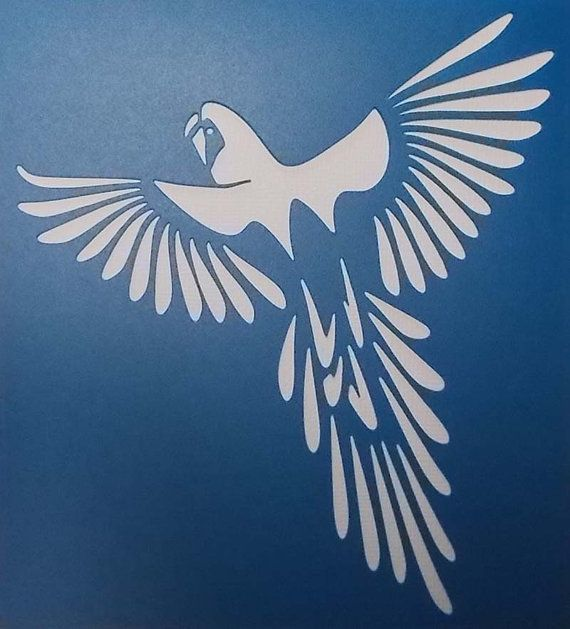 Stencil is approximately 5.5 x 6 Inches...... Stencils are cut from 127 micron translucent Mylar....The stencil can be used 100s of times without