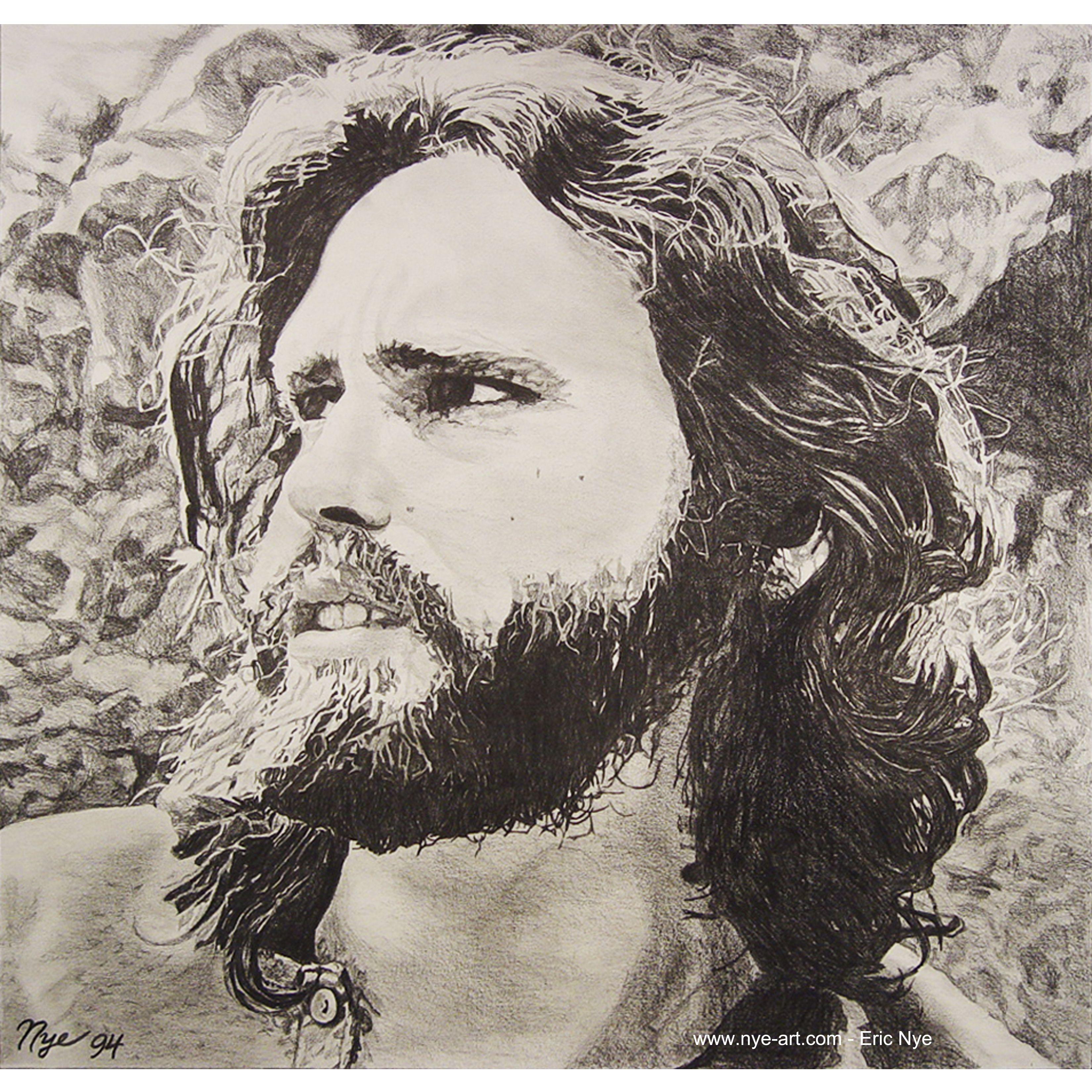 Home Eric Nye Art Jim Morrison Dibujos Morrison