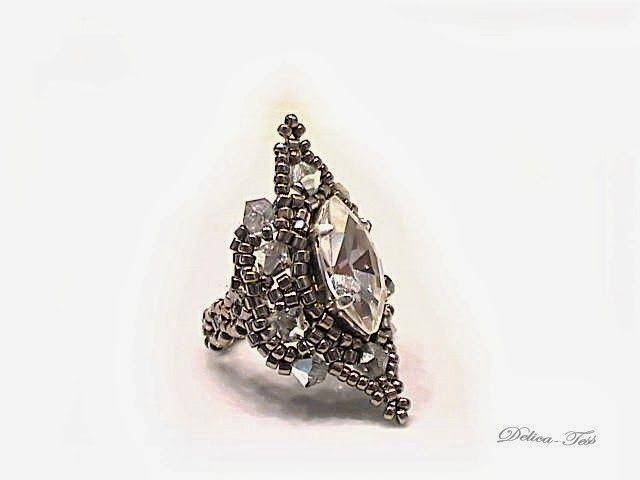 Pattern bijoux: Bague Jasmine