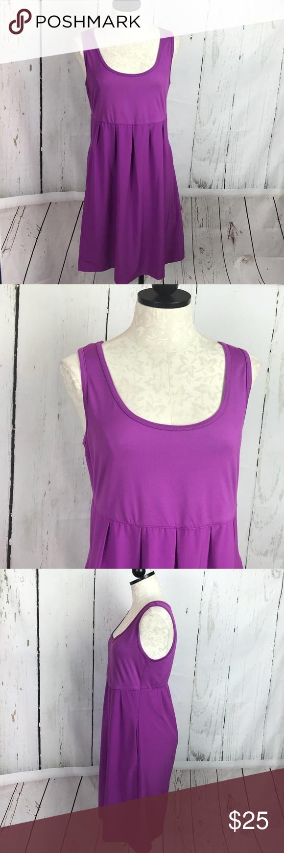 e7b09d1e941 Columbia Marakesh Maven Dress Fantastic plum purple dress with Omni Shade  Omni Wick Shaping on top