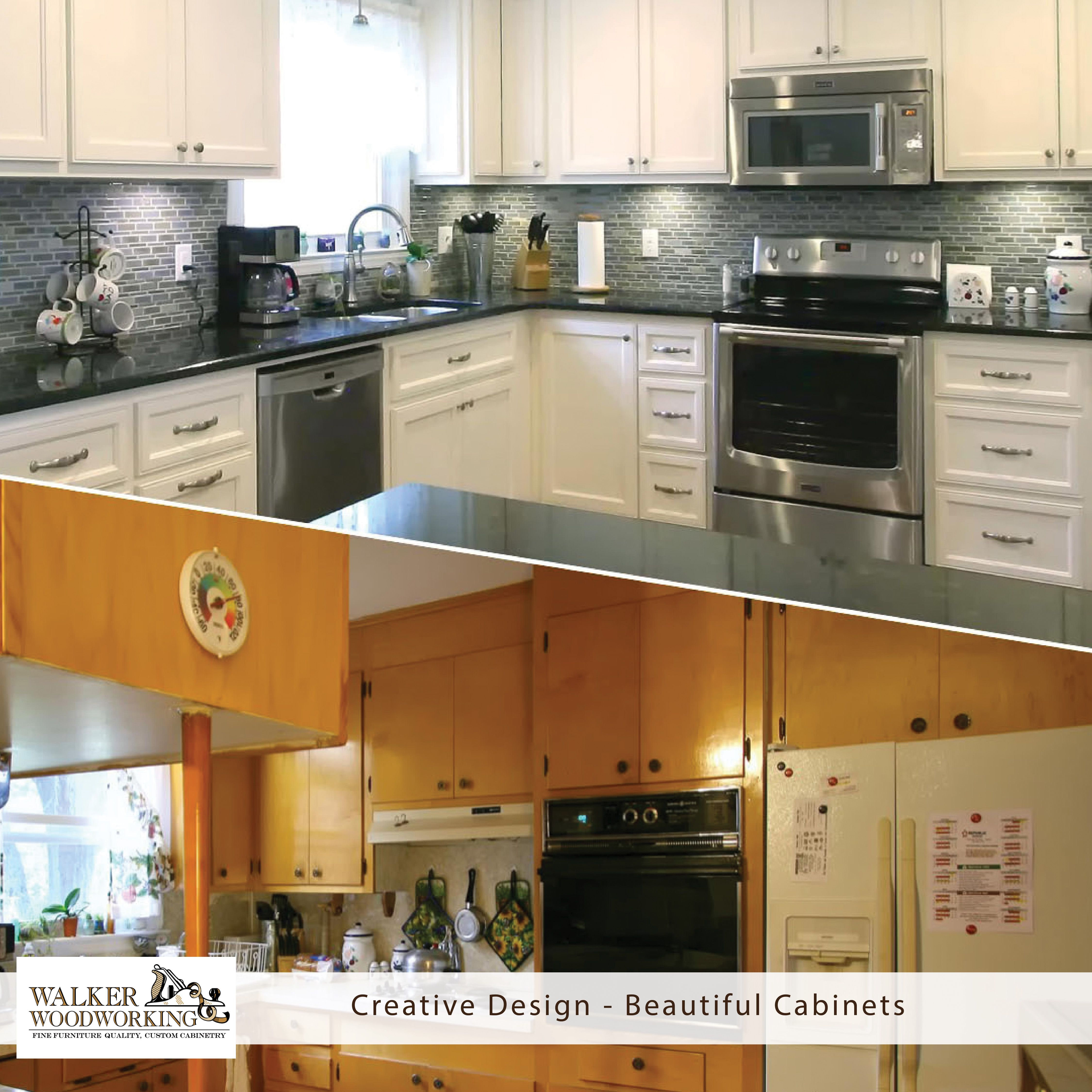 From Outdated To Defined We Bring Together Design Function And Beauty To Make Your Project One Of A Kind Kitchen Remodel Walker Woodworking Kitchen Design