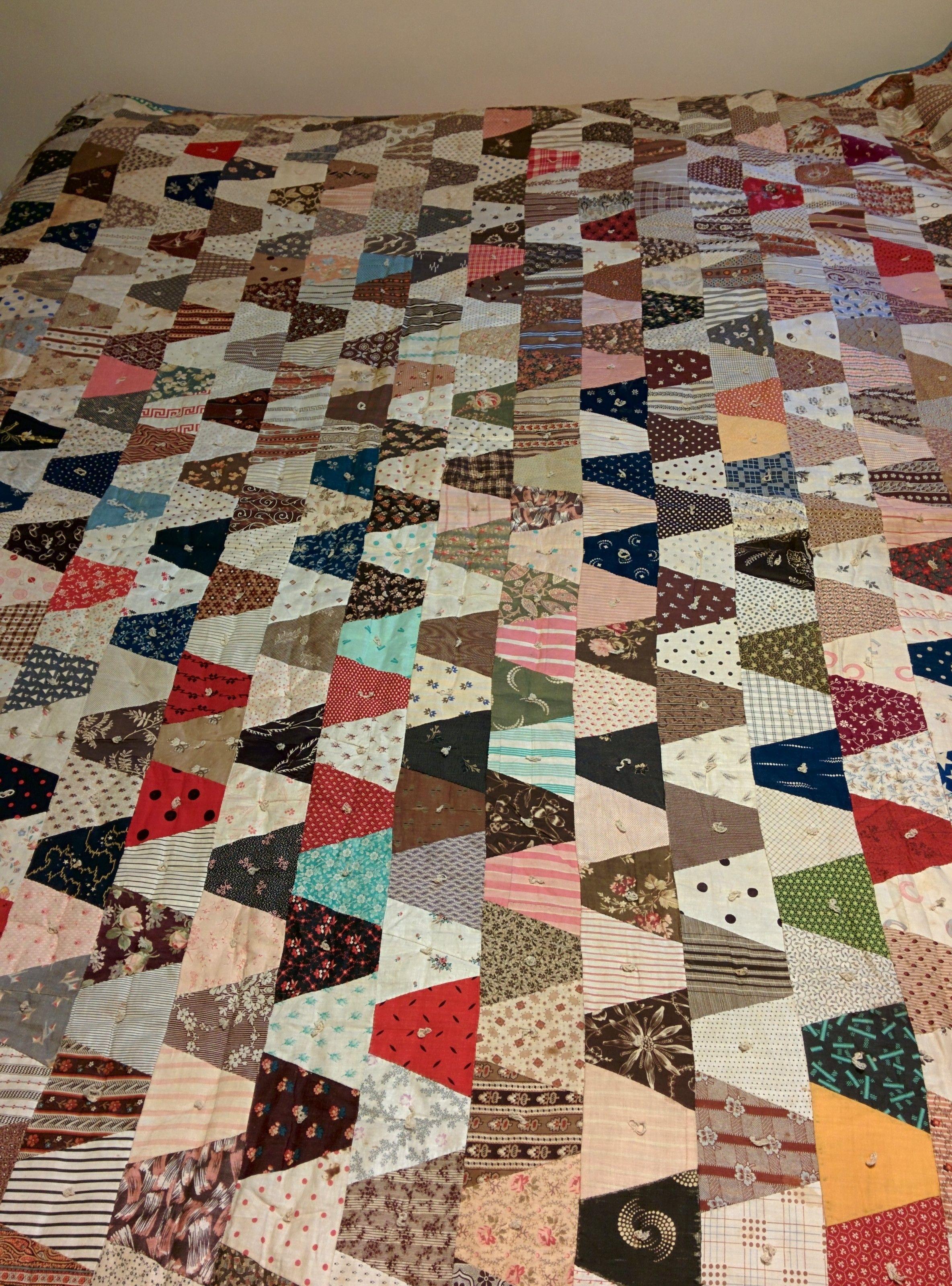 """ebay seller desert**rose; 80 x 84""""; old quilt, seller located in Winchester, Virginia"""