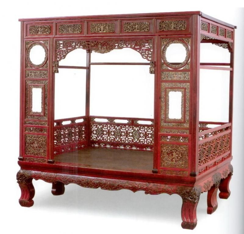 Chinese bed | Antique Chinese beds | Pinterest | Muebles chinos ...