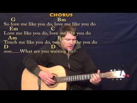 All Of Me John Legend Strum Guitar Cover Lesson With Chordslyrics