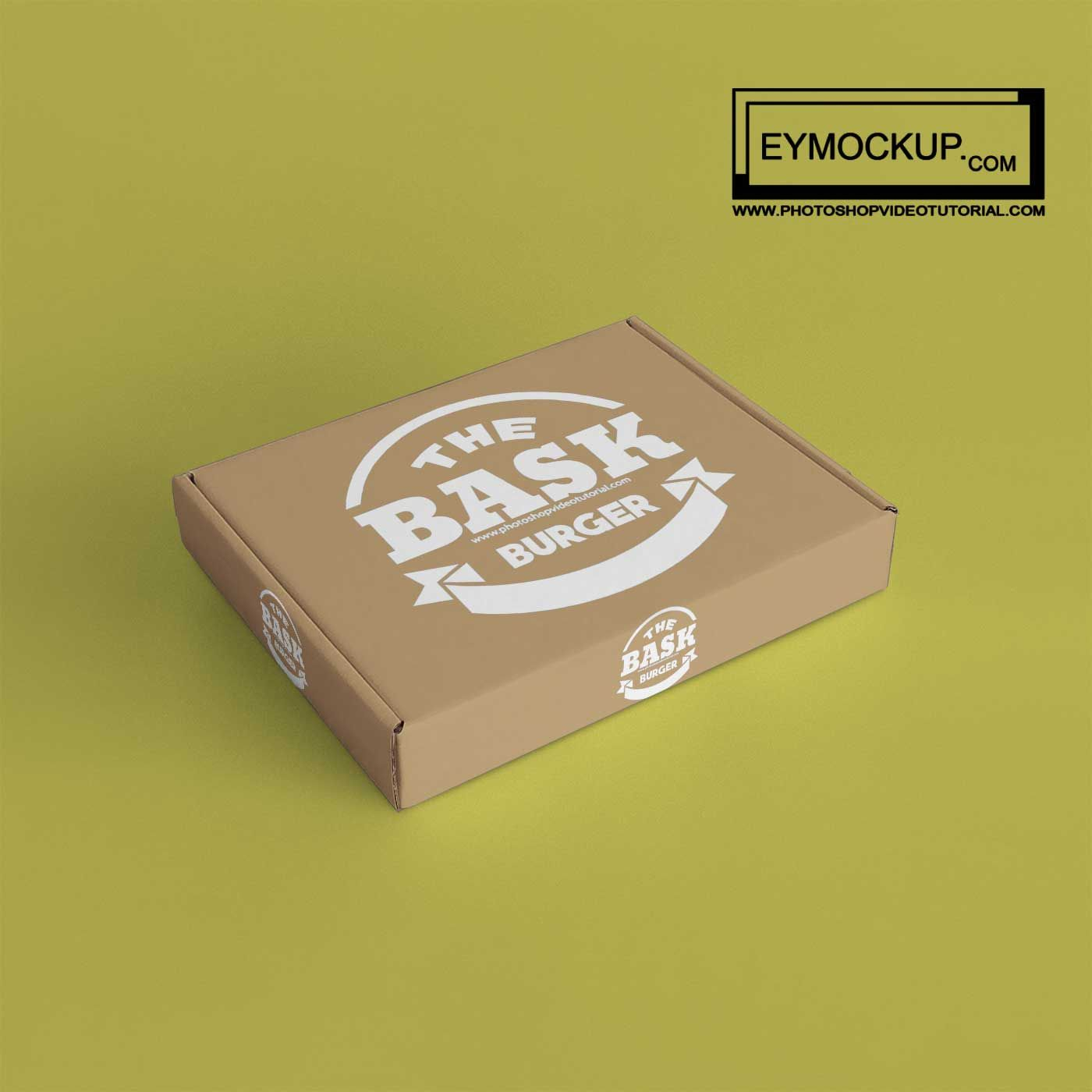 Download Free Pizza Box Mockups 2017 Box Mockup Mockup Free Psd Logo Design Mockup