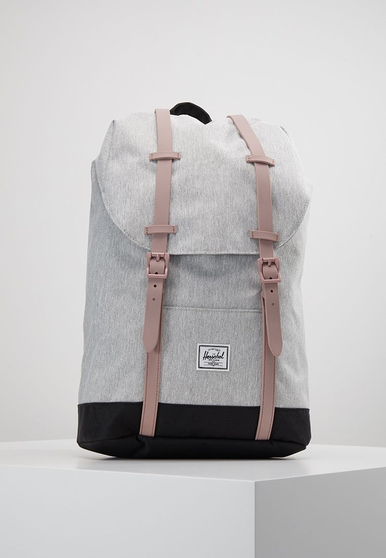 premium selection 50% price limited guantity RETREAT MID VOLUME - Sac à dos - light grey crosshatch/ash rose ...